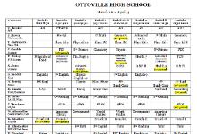 Online Schedule 6th-12th