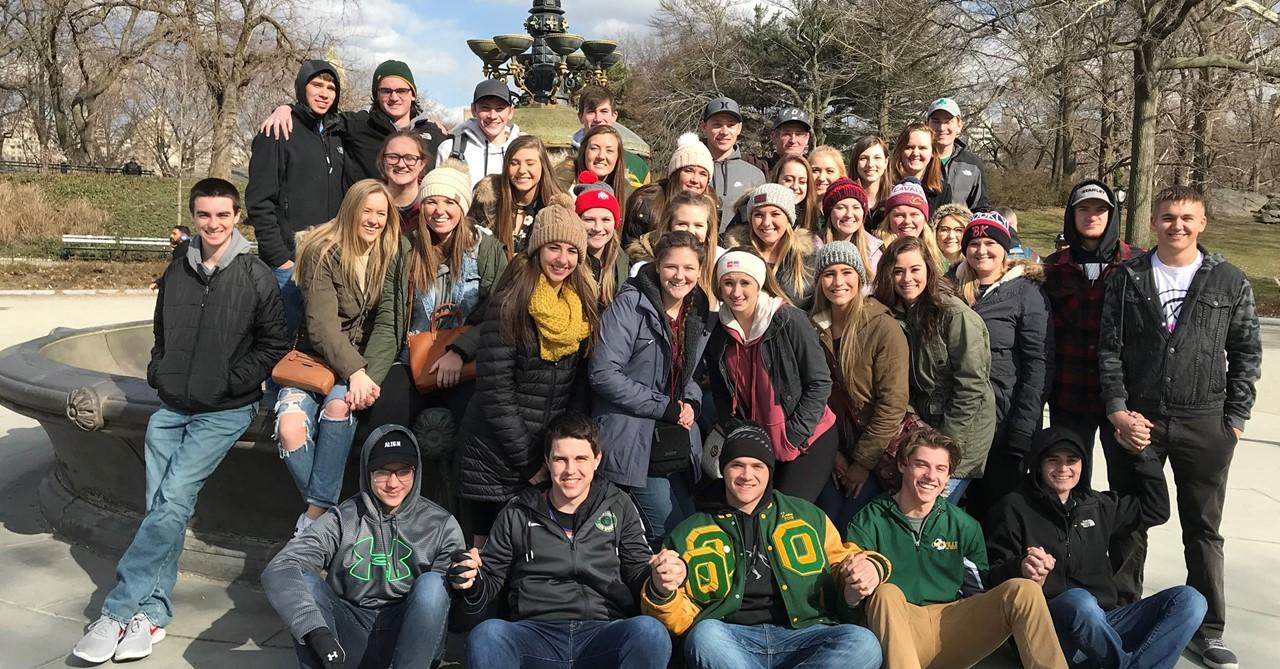 Seniors in Central Park