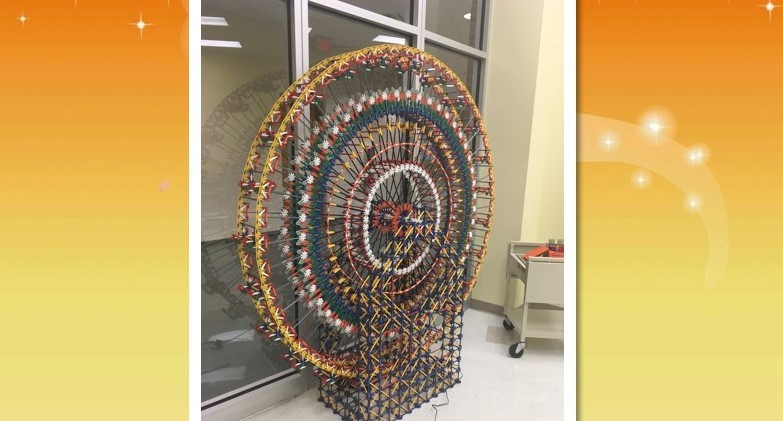 Ferris Wheel Completed by Students