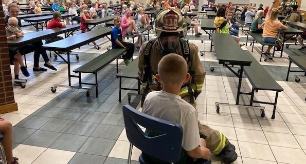 Ottoville Fire Department Visit